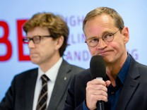 Engelbert Lütke Daldrup und Michael Müller