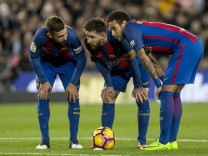 BARCELONA VS SPORTING GIJON, Spain - 01 Mar 2017