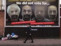 Der Brexit spaltet die britischen Parteien in EU-Befürworter und -Gegner.