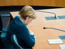 Abgasaffäre: Bundeskanzlerin Angela Merkel im Diesel-Untersuchungsausschuss