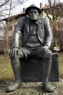 Aufkirchen, Oskar Maria Graf