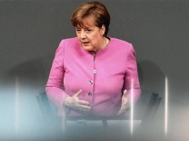 Angela Merkel Bundestag