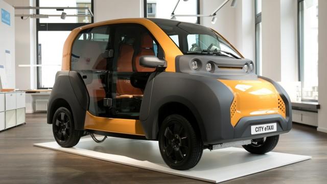 Elektroautos: Sehen so in Zukunft Taxis aus? - München - Süddeutsche.de