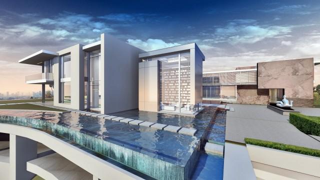 Giga-Mansion in Bel Air