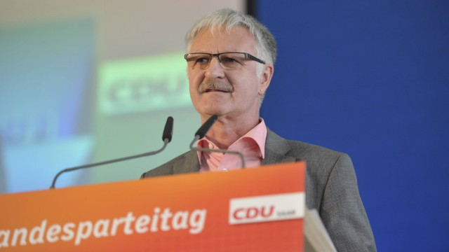 Landesparteitag der CDU Saar am Samstag 22 11 2014 in der Rohrbachhalle in Rohrbach Im Bild Armi