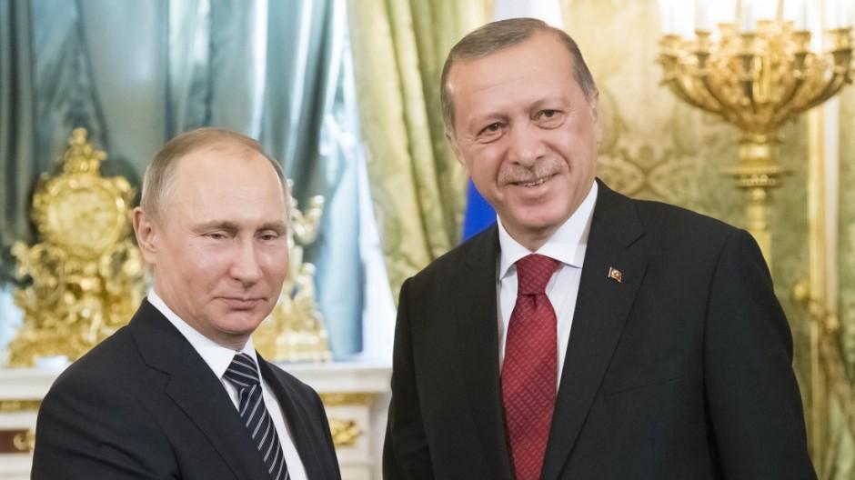 Türkischer Präsident besucht Russland