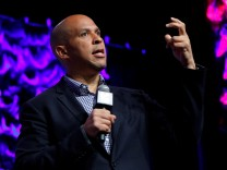 U.S. Senator Cory Booker answers questions at the South by Southwest Music Film Interactive Festival 2017 in Austin