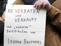 40 Prozent der Lehman-Opfer mit Prozess-Chancen