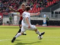 12 03 2017 Fussball Saison 2016 2017 2 Fussball Bundesliga 24 Spieltag 1 FC Nürnberg N