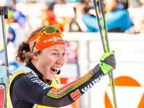 19 02 2017 Biathlonarena Hochfilzen AUT IBU Weltmeisterschaften Biathlon Hochfilzen 2017 Masse; Dahlmeier