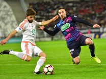 Cabot Jimmy FC Lorient Contento Diego Bordeaux FOOTBALL Bordeaux vs FC Lorient Coupe de Fr; Diego Contento