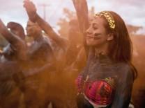 Schlamm-Karneval in Brasilien