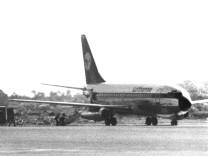 Entführtes Flugzeug 'Landshut'