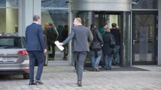 Audi Ingolstadt am Tag der Pressekonferenz / Razzia Unternehmensleitung