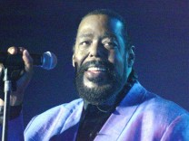 BARRY WHITE TOURNEE-AUFTAKT