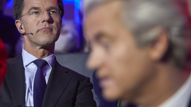 Wahl in den Niederlanden - TV-Duell