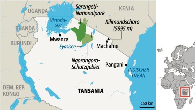 Tansania Reisen in Tansania