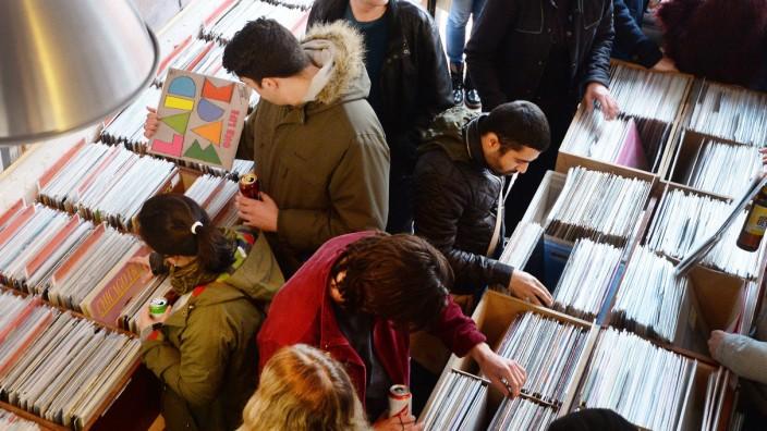 Schallplatten-Boom
