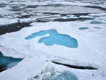 Eis auf dem Arktischen Ozean