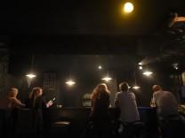"""Bar """"Riffraff' in München, 2016"""