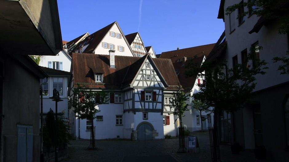 Fachwerkhäuser in Herrenberg