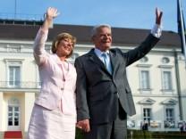 Gauck nimmt Abschied von Schloss Bellevue