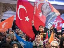 AKP-Wahlkampfveranstaltung