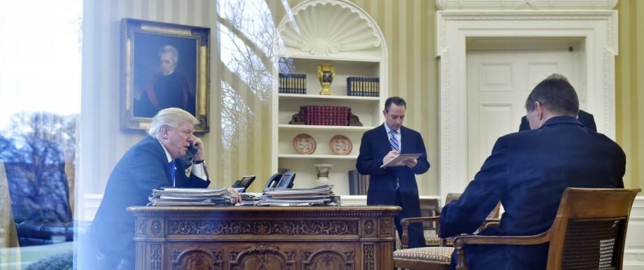 Donald Trump Personalprobleme im Weißen Haus