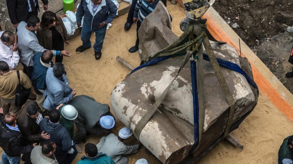 Archäologie Archäologischer Fund in Kairo