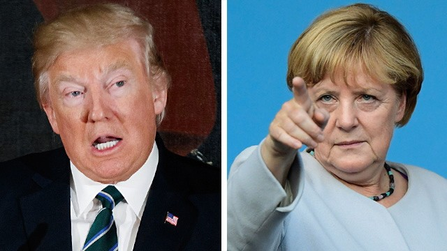 Donald Trump Merkel besucht USA