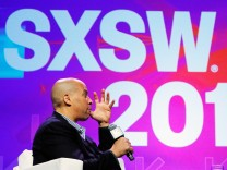 U.S. Senator Cory Booker (D-NJ) answers questions at the South by Southwest Music Film Interactive Festival 2017 in Austin