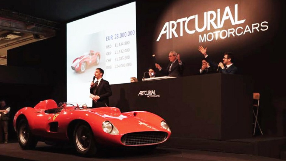 Ferrari Oldtimer-Auktionen