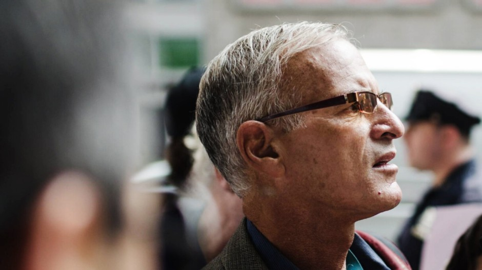 Jul 29 2014 New York New York U S NORMAN FINKELSTEIN and others arrested in front of Israeli