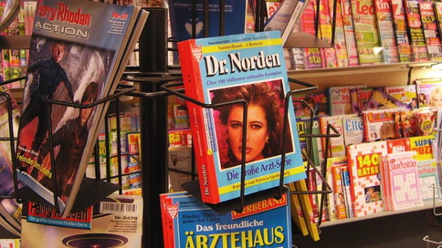 Verlagsbranche Groschenromane