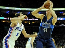 NBA: Dallas Mavericks at Philadelphia 76ers