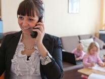 Job und Familie sind oft schwer zu vereinbaren.