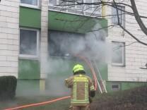 Brand in Unterschleißheim