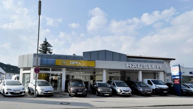 Gilching: Landsbergerstr.Opel Häuser