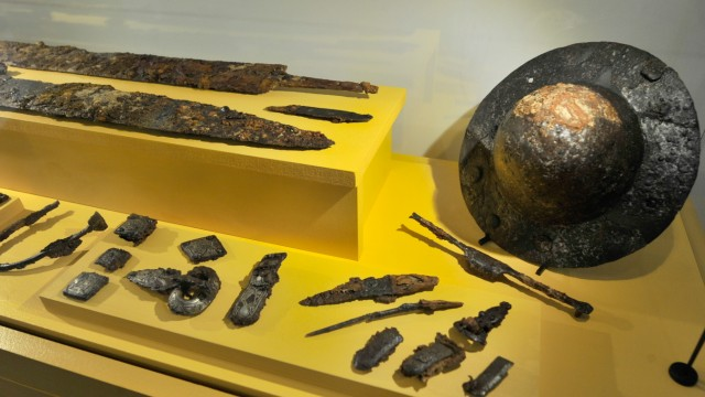 Gilching: Museumseröffnung Schichtwerk
