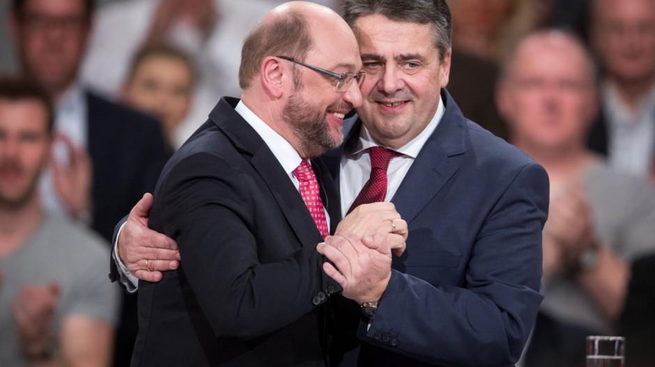 Martin Schulz, Sigmar Gabriel