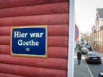 Hier war Goethe - nie
