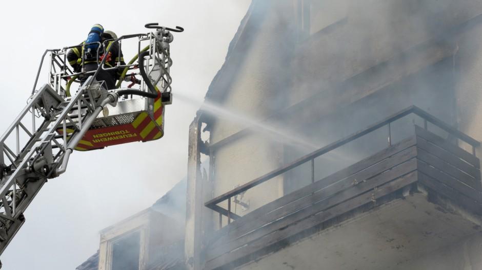 Mann stirbt bei Zwangsräumung in Tübingen