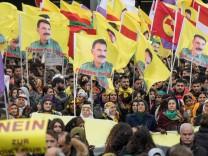 Demonstrationen zum kurdischen Frühjahrsfest Newroz