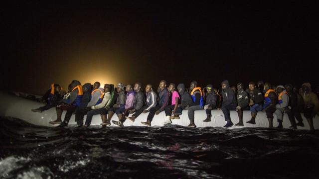 Flüchtlinge Italien