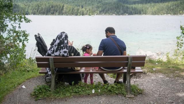 Arabische Sommergäste in Garmisch-Partenkirchen