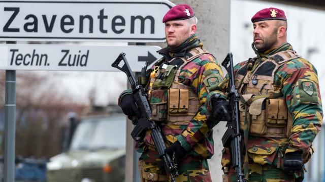 Terroranschläge in Brüssel Belgien