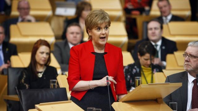 Unabhängigkeits-Referendum in Schottland Nach Angriff in London