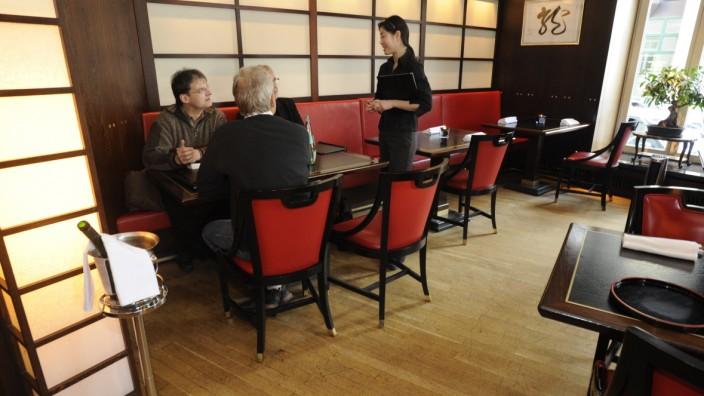 Jin Panasian Restaurant in München, 2010