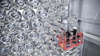 Solarenergie Synlight-Anlage
