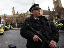 BESTPIX - Firearms Incident Takes Place Outside Parliament